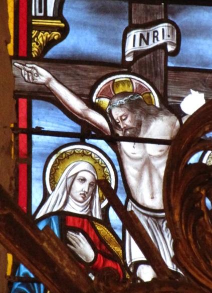 vitrail de l'église de Saint-paul (Corrèze)